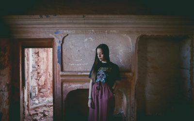 Editorial fotográfico de la bella Paula