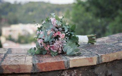 Editorial: el ramo de flores de la novia.